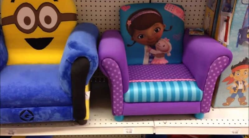 USA Toysrus Disney and Universal Characters Kids Furniture Range Store View